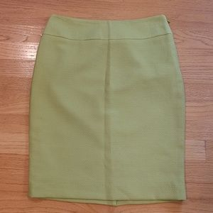 Limited Lime Green Pencil Skirt